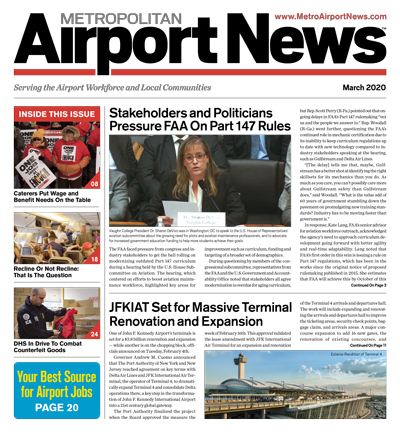 Metropolitan Airport News March 2020