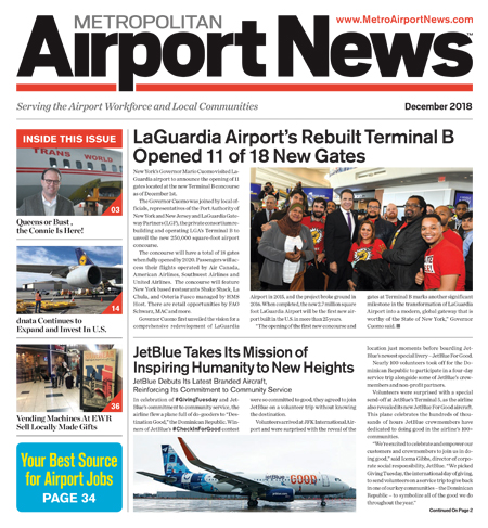 Metropolitan Airport News Dec 2018