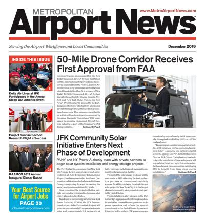 December 2019 Metropolitan Airport News