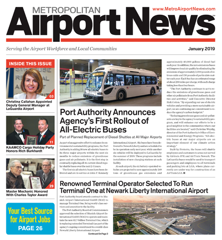 Metropolitan Airport News Jan 2019