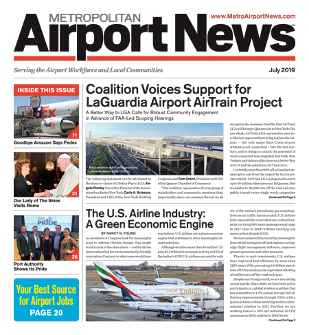 Metropolitan Airport News July 2019