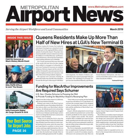 Metropolitan Airport News March 2019