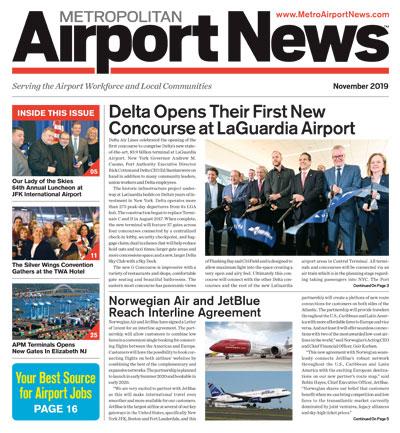 November 2019 Metropolitan Airport News