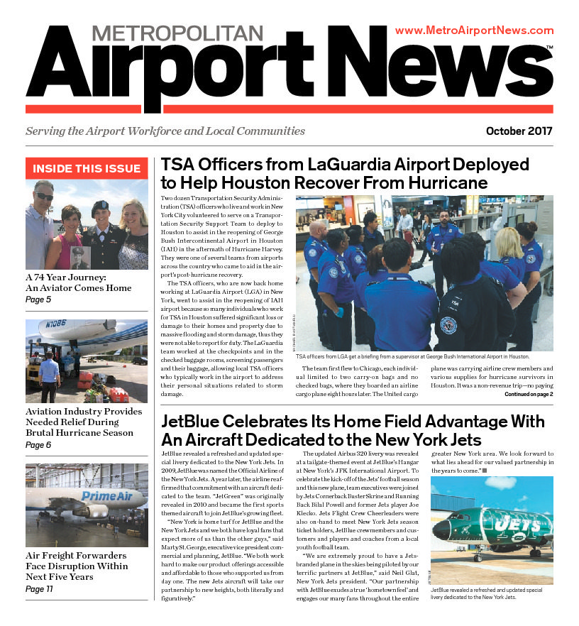 Metropolitan Airport News October 2017