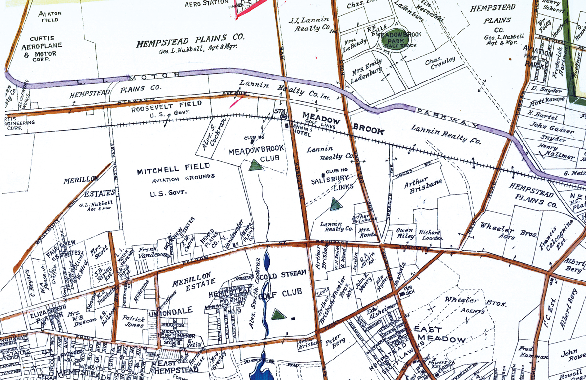 Mitchell Field Map
