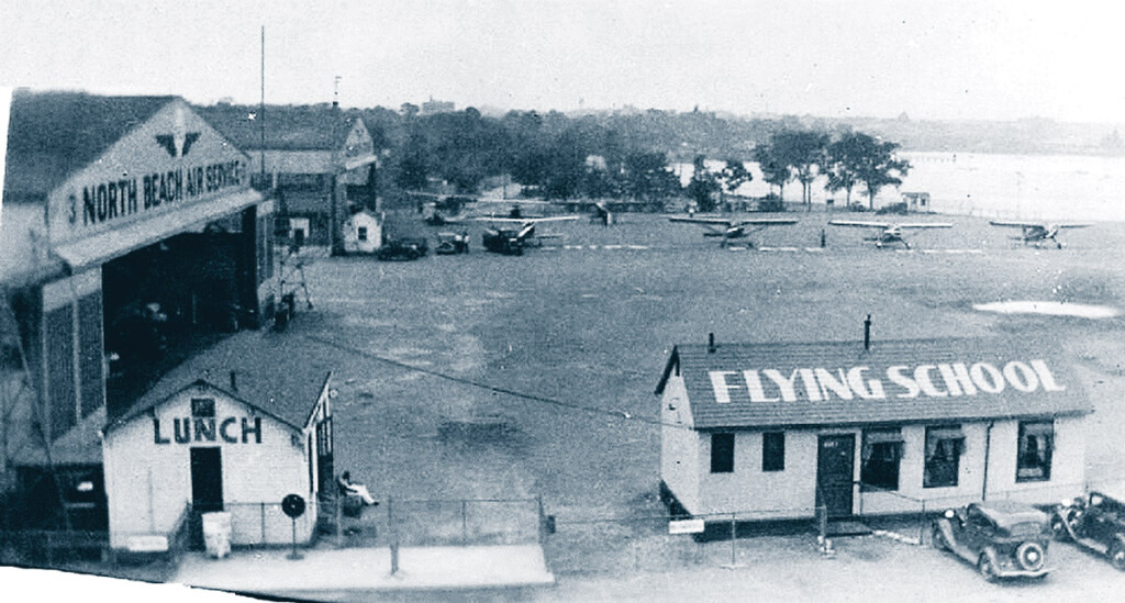 North Beach Airport in 1936