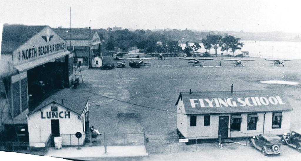 Aéroport de North Beach en 1936