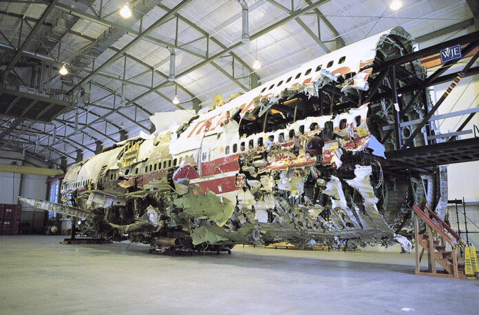 NTSB's TWA Flight 800 Reconstruction to be Decommissioned