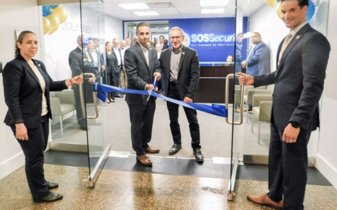 SOS Security Unveils New York City Regional Office