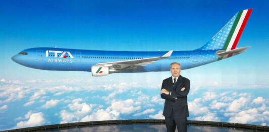 Alfredo Altavilla, President of ITA Airways Rome.