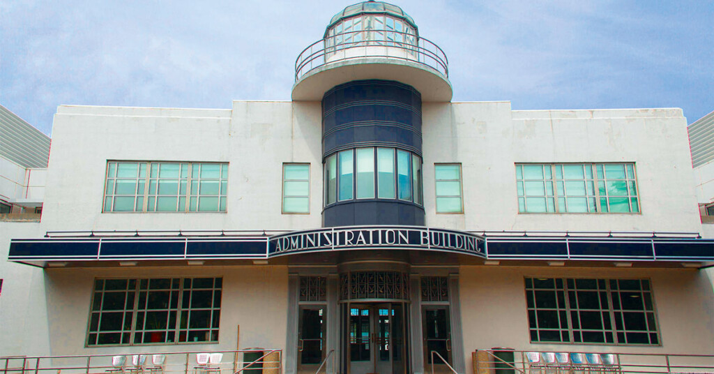 Bâtiment administratif de l'aéroport métropolitain de Newark