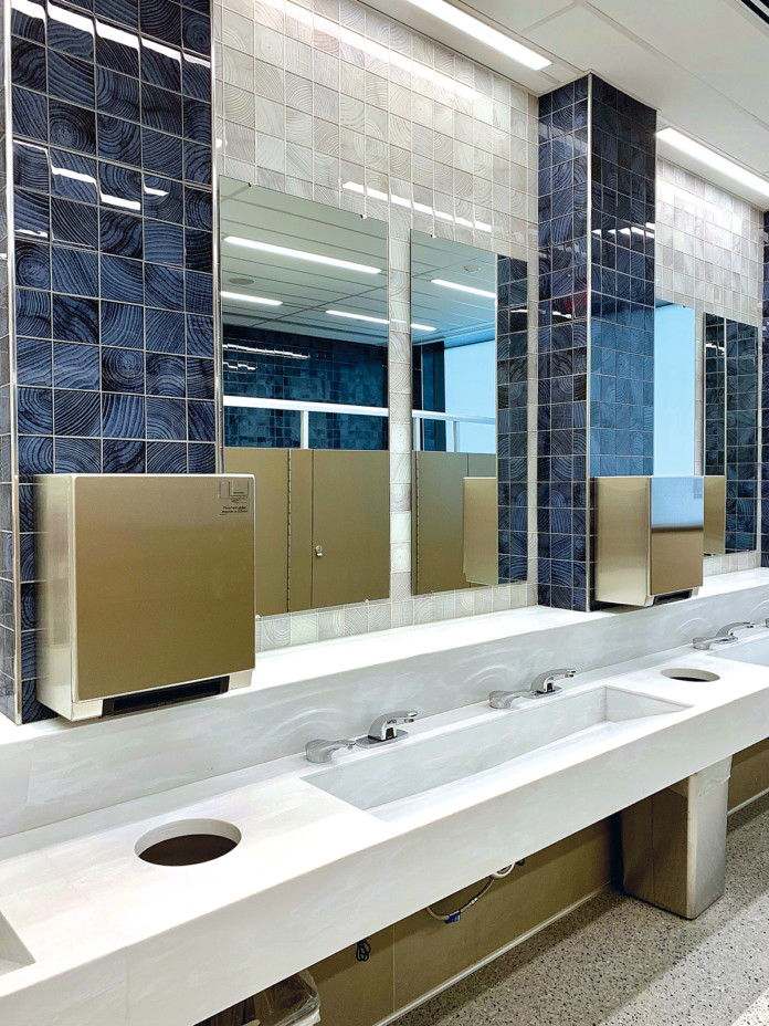 Newark Liberty Airport Undergoing Major Restroom Upgrades