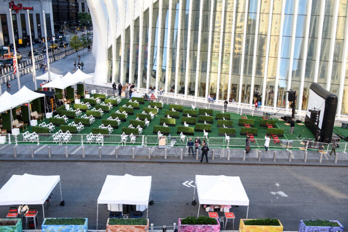 Open-Air Entertainment and Movie Screenings Come to Lower Manhattan