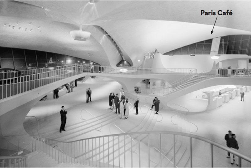 The former TWA terminal circa 1962.