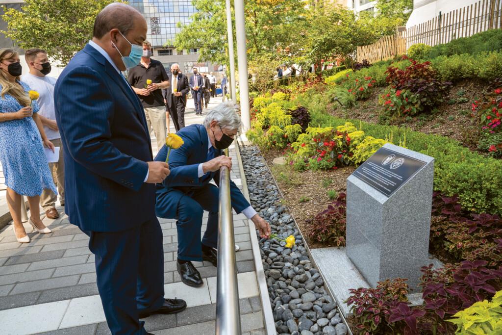 Port Authority 9-11 memorial garden