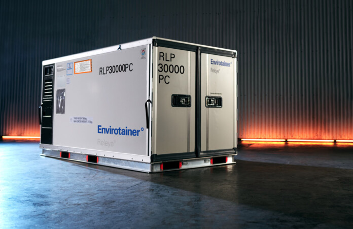 Qatar Airways Cargo Offers Envirotainer's Innovative Releye RLP container for Pharma Transport