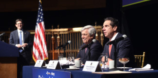Governor Cuomo, joined by Rick Cotton, Executive Director of the Port Authority of New York and New Jersey and Steven Rubenstein, the President of ABNY, outlined the groundwork for a brand new transformed John F. Kennedy Airport