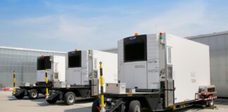 PORTABLE COOLING TRUCKS FOR PHARMA VACCINES LUFTHANSA