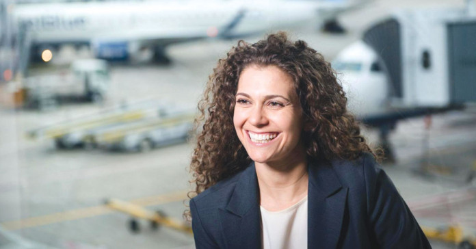 Sophia Mendelsohn Head of Sustainability for JetBlue