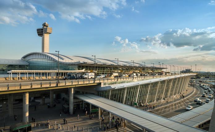 JFK Airport Terminal 4 Exterior
