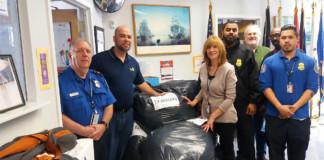 TSA LGA Clothe Homeless Veterans