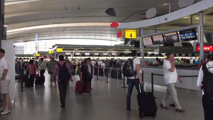 Terminal-4 JFK Airport NY Crowd-Vision
