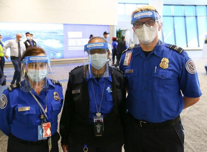 TSA Team at LaGuardia Airport Earns DHS Secretary's Award for Pandemic Heroism