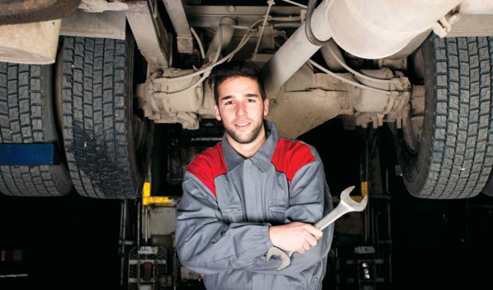Truck Mechanic Shortage