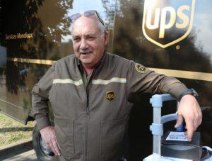UPS Circle of Honor Driver Patrick David