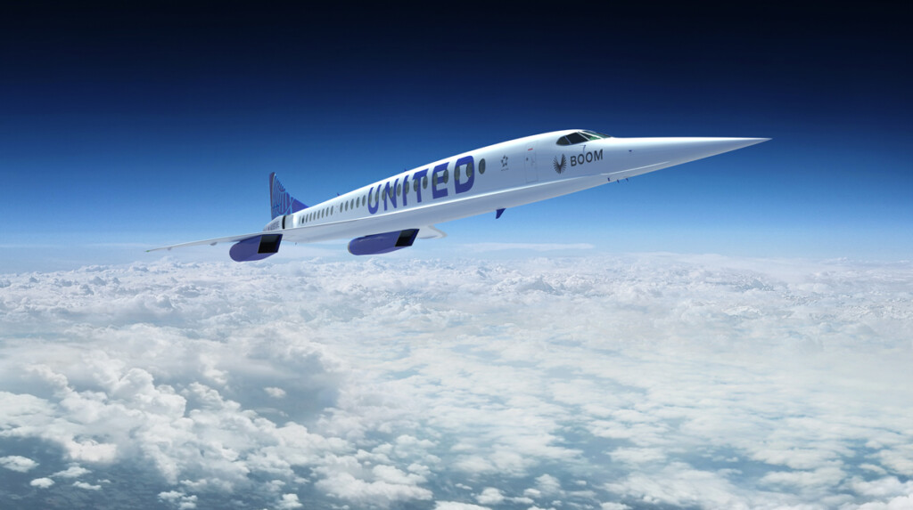 United Adding Supersonic Speeds with New Agreement to Buy Aircraft from Boom Supersonic