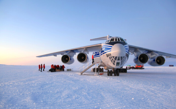 Volga-Dnepr supports Dronning Maud Land Air Network Project with efficient cargo operations to Antarctica for the 6th consecutive year