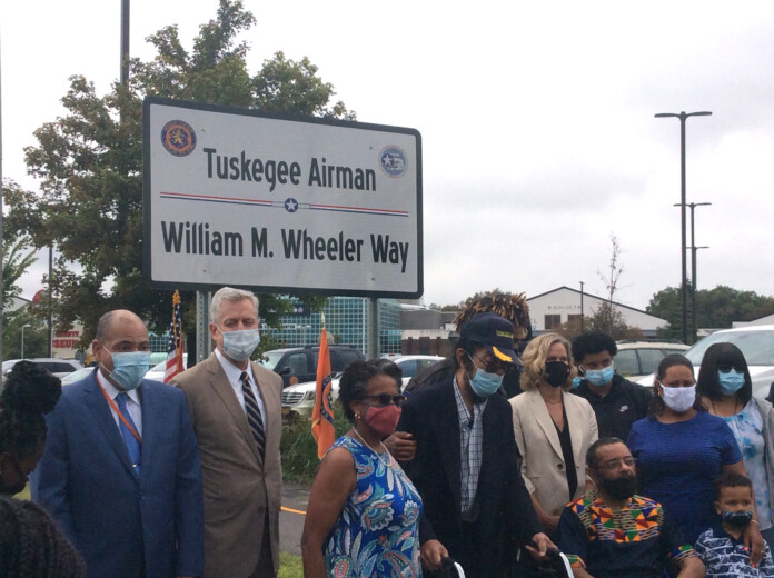 Renaming a street near the Cradle of Aviation museum William Wheeler Way