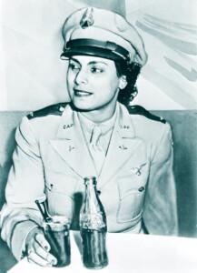 Willa Brown, First African American member of Civil Air patrol 1942.