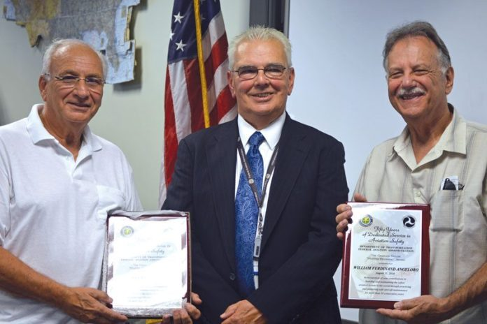 Wilson Tech Faculty Member Receives Prestigious FAA Honor