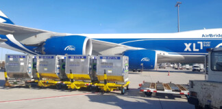 AirBridgeCargo Airlines Delivers 41RKN CSafe Containers as Part of its Prer for Covid-19 Vaccine Transportation