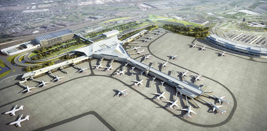 NEWARK LIBERTY INTERNATIONAL AIRPORT'S NEW $2.3 BILLION TERMINAL A REDEVELOPMENT