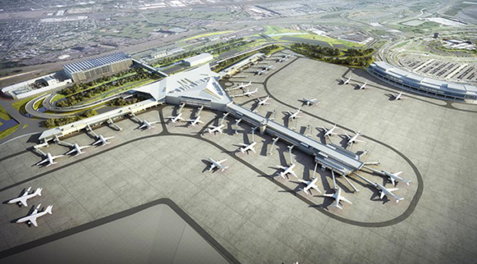 NEWARK LIBERTY INTERNATIONAL AIRPORT'S NEW $2.3 BILLION TERMINAL A REDEVELOPMENT