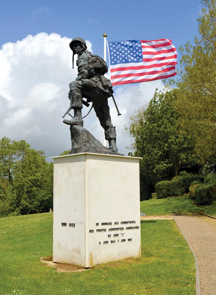 Iron Mike Airborne Memorial statue