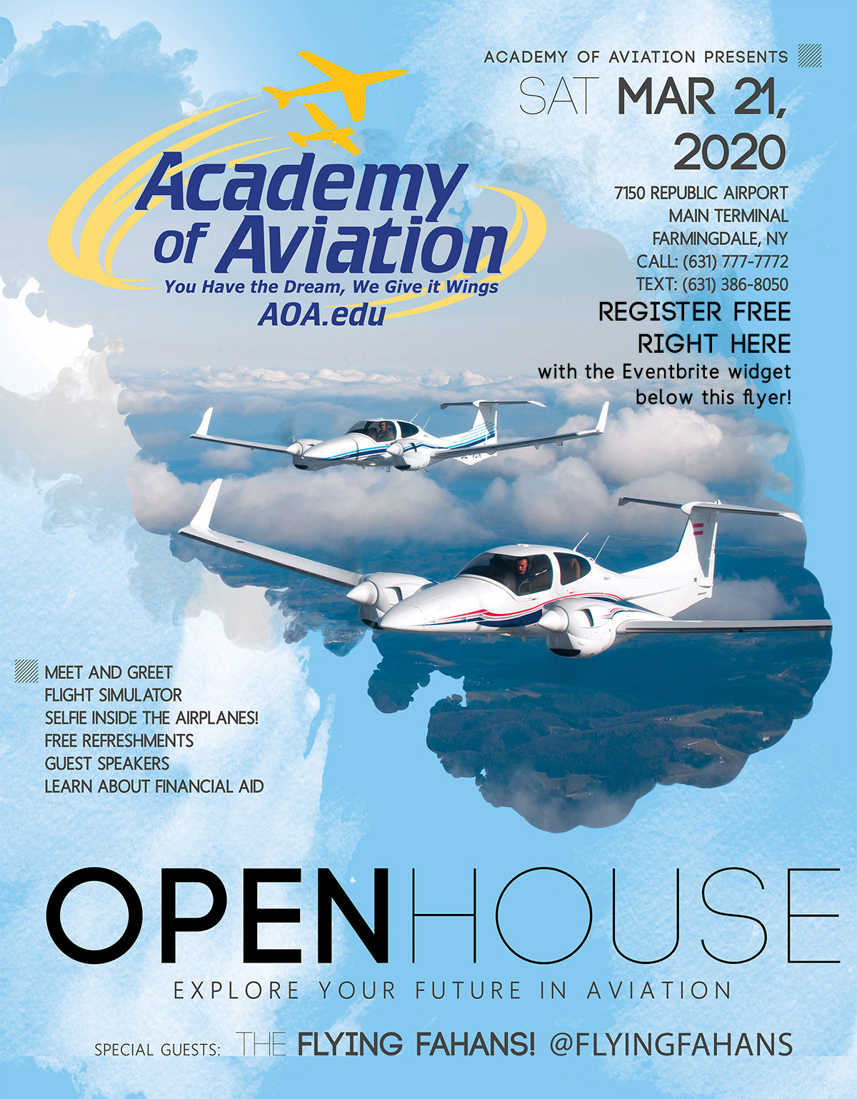 Academy of Aviation Open House