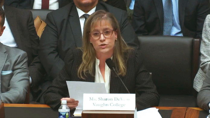 Dr. Sharon DeVivo was in Washington, DC to speak to the U.S. House of Representatives' aviation subcommittee